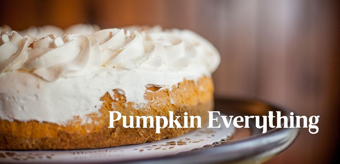 Merridee's Pumpkin Cheesecake